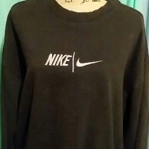 Womens NIKE crew neck sweatshirt.